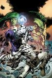 Incredible Hulks No617 Cover: Hiro Kala and Skaar Fighting