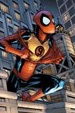 Marvel Adventures Spider-Man No9 Cover: Spider-Man Jumping