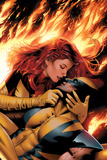 X-Men: Phoenix - End Song No3 Cover: Phoenix and Wolverine