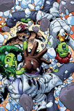 She-Hulks No4: She-Hulk and Lyra Falling