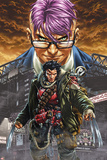 Wolverine and The X-Men: Alpha & Omega No1 Cover: Wolverine and Kid Omega