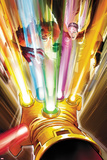 Avengers No9 Cover: Thor and Rulk Fighting