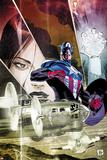 Captain America: Forever Allies No3 Cover: Captain America Standing