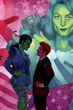 She-Hulk No 10 Cover  Featuring: She-Hulk  Jennifer Walters  Matt Murdock