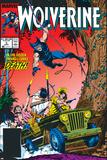 Wolverine No5 Cover: Wolverine
