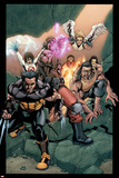 Ultimate X-Men No89 Group: Wolverine  Bishop  Beast and Angel