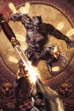 Black Panther: The Man Without Fear No515 Cover: Black Panther Surrounded by Daggers