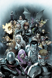 X-Men Legacy No245 Cover: Cyclops  Avalanche  Angel  Colossus  Storm  and Gambit