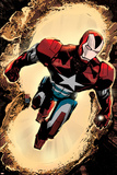 Secret Avengers 3 Cover: Iron Patriot