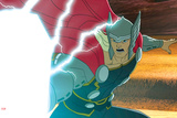 Avengers Assemble Animation Still Featuring Thor