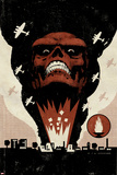 Red Skull No1 Cover: Headshot of Red Skull