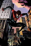 Ultimate Comics Spider-Man No7: Spider-Man Jumping
