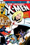Uncanny X-Men No131 Cover: White Queen  Colossus and Nightcrawler