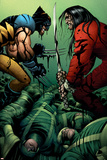 Wolverine No31 Cover: Wolverine and Gorgon