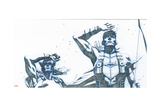 Avengers Assemble Pencils Featuring Thor  Hawkeye
