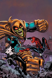 Spectacular Spider-Girl No4: Punisher  Spider-Girl  and Hobgoblin Fighting and Smashing