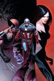 Avengers 10 Cover: Captain America  Wolverine  Validator  Michaud  Robert