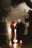 Marvel Knights Presents Cover  Featuring: Daredevil  Kingpin