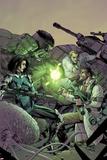 Incredible Hulk No5 Cover: Hulk and Bruce Banner