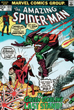 Marvel Comics Retro: The Amazing Spider-Man Comic Book Cover No122  the Green Goblin's Last Stand!