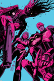 Guardians of the Galaxy 8 Cover: Groot  Drax  Gamora  Rocket Raccoon  Star-Lord