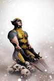 Wolverine No14 Cover: Wolverine Kneeling