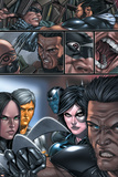X-Force No8 Group: X-23  Wolverine and Domino