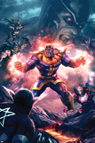 The Thanos Imperative No3 Cover: Thanos Screaming