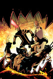 Astonishing X-Men No37 Cover: Wolverine  Armor  Cyclops  and Emma Frost