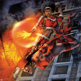 Heroes For Hire No11 Cover: Elektra and Misty Knight Jumping