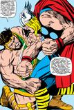 Marvel Comics Retro: Mighty Thor Comic Panel  Hercules