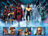 The Thanos Imperative No3: Quasar  Beta-Ray Bill  Gladiator  Nova  SilverSurfer  Ronan the Accuser