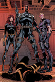 Secret Avengers 14 Group: Black Window  Nick Fury  Hawkeye