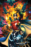X-Men: Kingbreaker No1 Cover: Vulcan and Havok