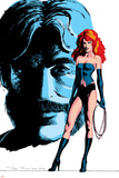Classic X-Men No24 Cover: Grey  Jean  Black Queen  Wyngarde and Jason