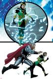 Thor No617: Loki and Thor Running