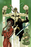 Defenders No6 Cover: Misty Knight and Iron Fist