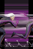 Ultimate Comics X-Men No4 Cover: Quicksilver Running