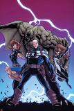 Onslaught Unleashed No3 Cover: Steve Rogers  Nomad and Spider-Girl