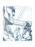Avengers Assemble Pencils Featuring Thor  Iron Man