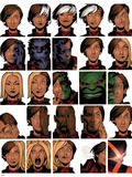 Uncanny X-Men 14 Cover: Deeds  Benjamin  Tempus  Frost  Emma  Stepford Cuckoos  Hulk  Beast