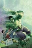 Indestructible Hulk 14 Cover Featuring Hulk  Bruce Banner