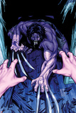 Wolverine & The X-Men: Alpha & Omega No2 Cover: Wolverine Crouching