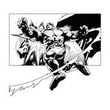 Avengers Assemble Artwork Featuring Hulk