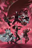 Uncanny X-Force 35 Cover: Psylocke  Archangel  Fantomax  Deathlok  Deadpool  Nightcrawler