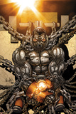Cable and X-Force 6 Cover: Colossus