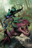 Indestructible Hulk 20 Cover Featuring Hulk  Two-Gun Kid  Kid Colt  Rawhide Kid