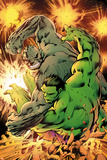 Savage Hulk No 2 Cover  Featuring: Hulk  Abomination