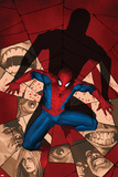Fear Itself: Spider-Man No1 Cover: Spider-Man Crouching