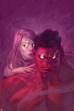 Thuderbolts 13 Cover: Red Hulk  Mercy